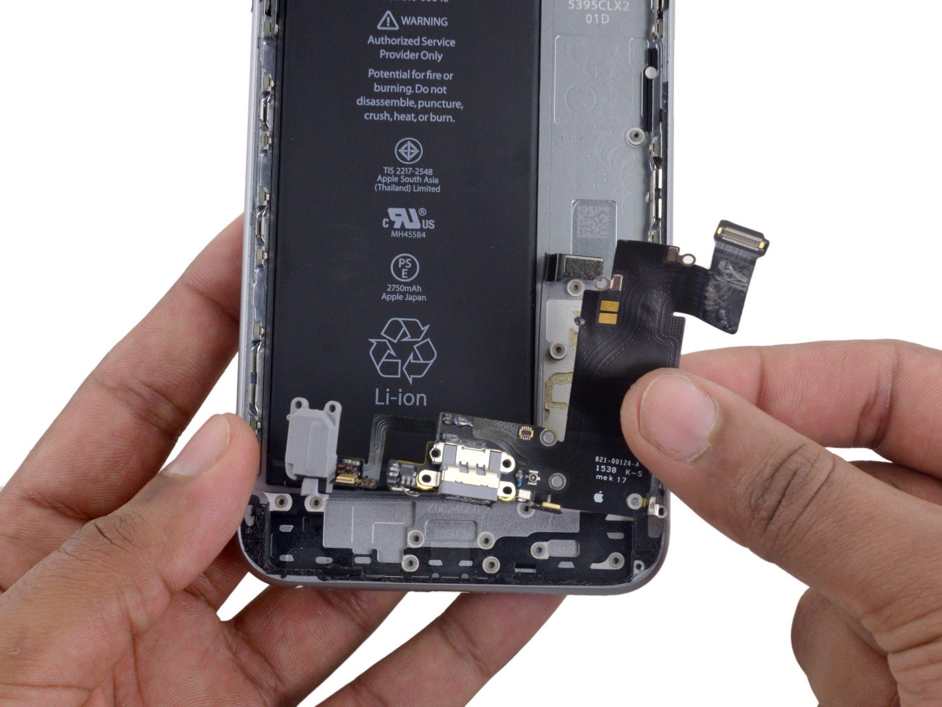 iphone 6s plus dock change